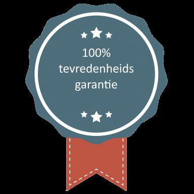 100% tevredenheidsgarantie op een ATS
